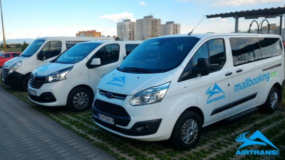 Shuttle transfer from Kosice Airport ⇒ to High Tatras