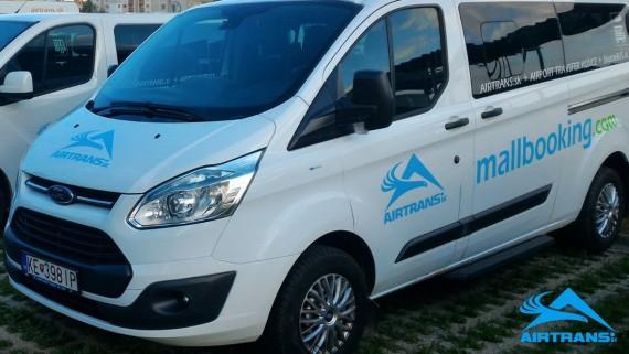 Transfer Taxi Michalovce ⇒ Krakov