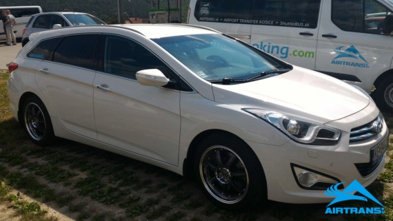 Transfer Taxi from Airport Vienna ⇒ Bardejov